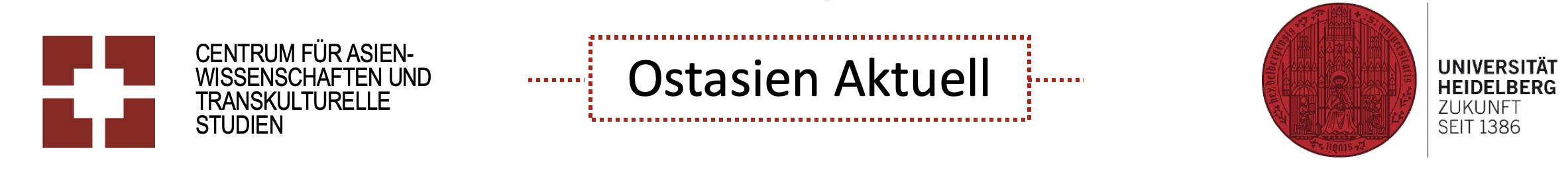 Ostasien Aktuell